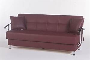 betsy burgundy sofa bed by sunset With burgundy sofa bed