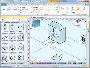 Network Diagram Software  Free Network Drawing  Computer