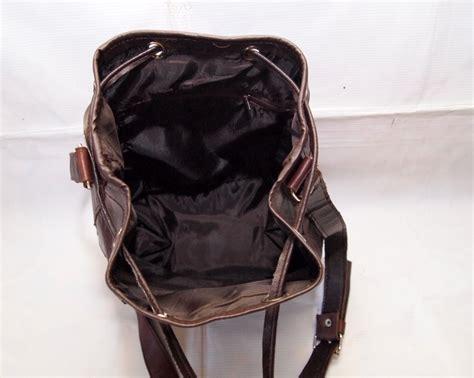 tas kulit drawstring serut slempang vintage kode produk