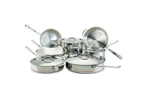 clad copper core pc cookware set  sale metrokitchen