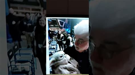 GEORGE LUCAS MEETS BABY YODA - YouTube