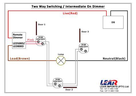 Way Dimmer Switch Wiring Diagram Somurich