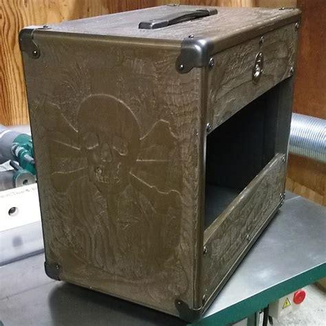 custom made guitar speaker cabinets custom carved guitar speaker cabinet 1x12 reverb
