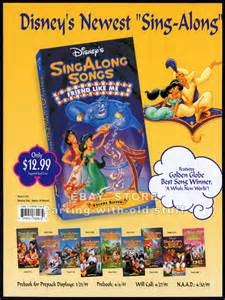 Disney Sing-Along Songs
