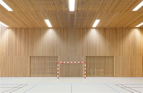 gallery of school gymnasium in neuves maisons pace architecte abc studio 17