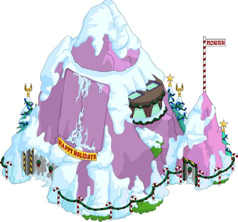christmas volcano lair  simpsons tapped  wiki