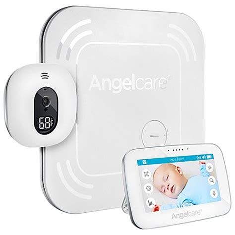 Baby Monitor And Sensor Mat - angelcare 174 ac417 4 3 quot touchscreen movement and