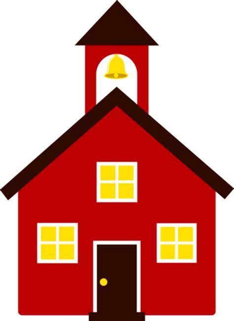 red school house  clip art