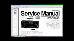 Panasonic Rx-d29 Service Manual