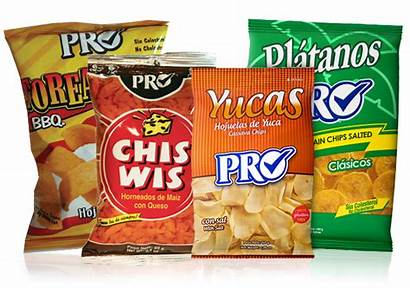 Snacks Pro Producto Chips Crumpled