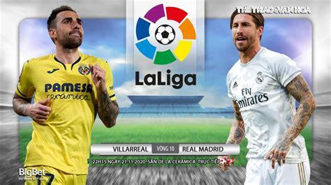 Trực tiếp Villarreal Real Madrid. BĐTV. Truc tiep bong da ...