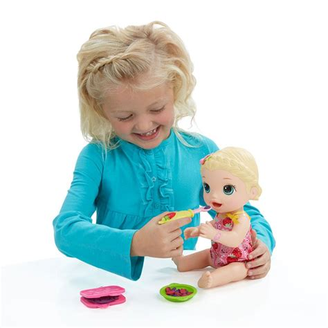 Buy Baby Alive Snackin Lily Blonde Doll Online At Low