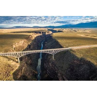 Rio Grande Gorge Bridge New Mexico USADronestagram