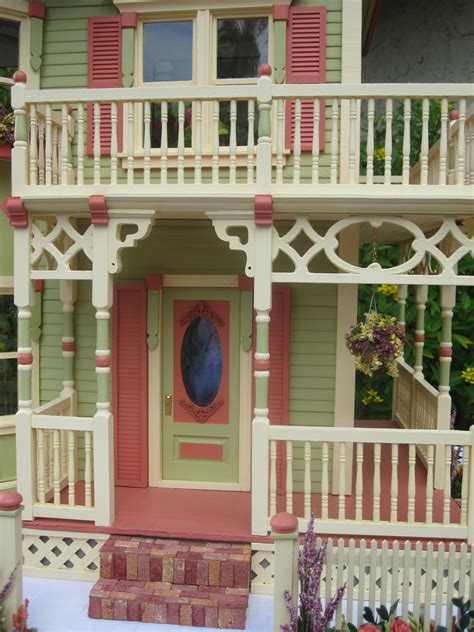 dollhouses  robin carey  gothic victorian dollhouse