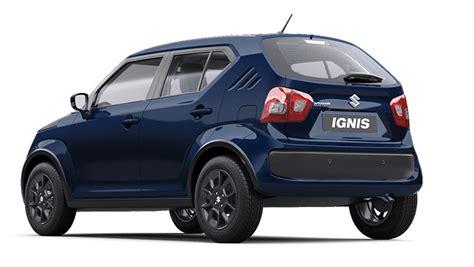 Suzuki Ignis 2019 by 2019 Maruti Suzuki Ignis Variants Explained Overdrive