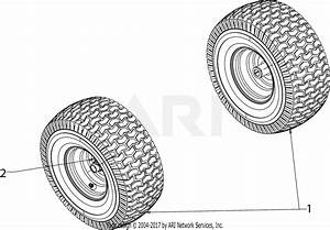 Mtd 13w277ss031  Lt 4200   2016  Parts Diagram For Wheels