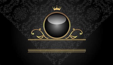 vip vip black background vector background material