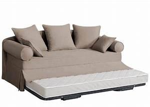 housse canape casablanca With housse pour canapé lit gigogne