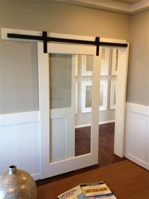 glass barn doors interior barn doors barn door track the glass door