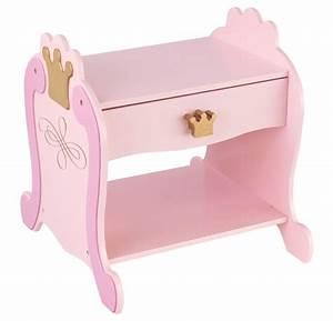 Table De Nuit Fille : table de nuit princesse chevet kidkraft sur ~ Melissatoandfro.com Idées de Décoration