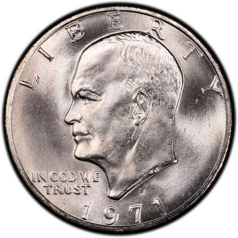 eisenhower dollar value 1971 eisenhower dollar values and prices past sales coinvalues com