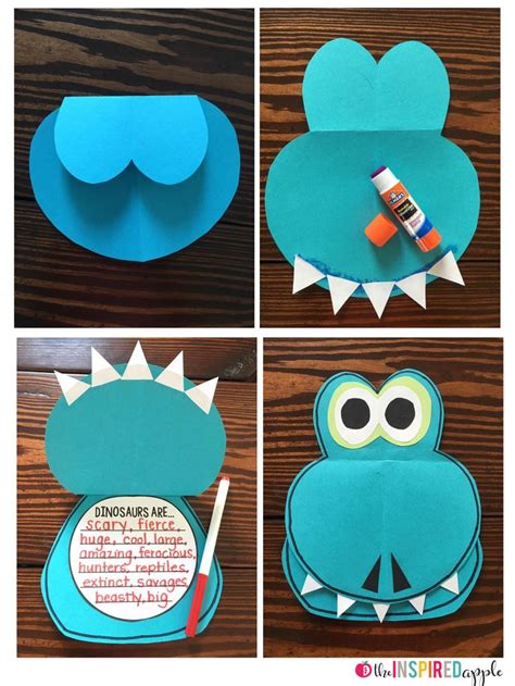best 25 dinosaur crafts ideas on dinosaur 504 | 8dbcb6f8dc0ea4a14e9b005c592827cb literacy crafts dinosaur literacy activities