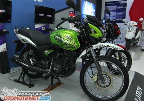 Tvs Max 125 Semi Trail Image by Hari Ini Tmci Launching Tvs Max 125 Ada Versi Jalanan Dan