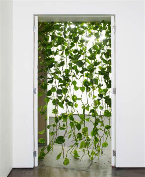 Diy Kitchen Curtain Ideas - jungle leaves string door screen green plant curtain divider