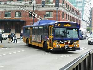 King County Metro 2001 Gillig Phantom Trolley 4157