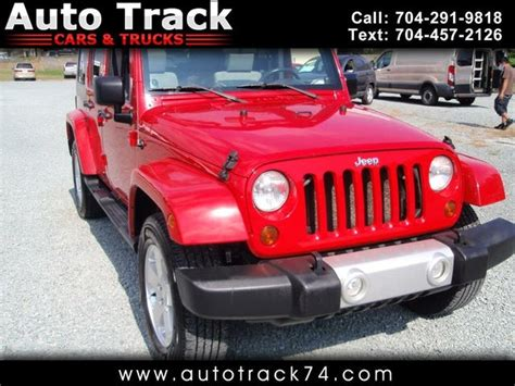 jeep wrangler unlimited  sale  indian trail nc cargurus