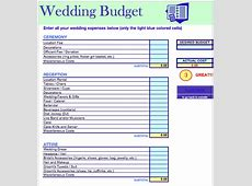 14 Useful Wedding Budget Planners Kitty Baby Love