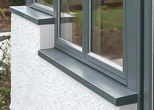 window sills seamless aluminium uk and ireland