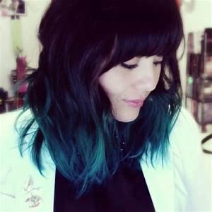 My Teal Aqua Blue Ombr Hair HAIRSTYLE ICIOUS