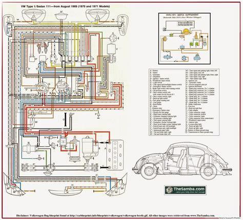 70 Vw Bug Wiring Diagram by Wrg 1641 Vw Beetle Wiring Harness