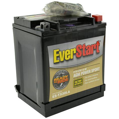 Everstart Premium Agm Power Sport Battery Group Size Es