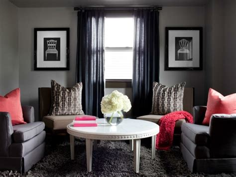 Wohnzimmer Rot Grau by Wohnzimmer Grau In 55 Beispielen Erfahren Wie Das Geht