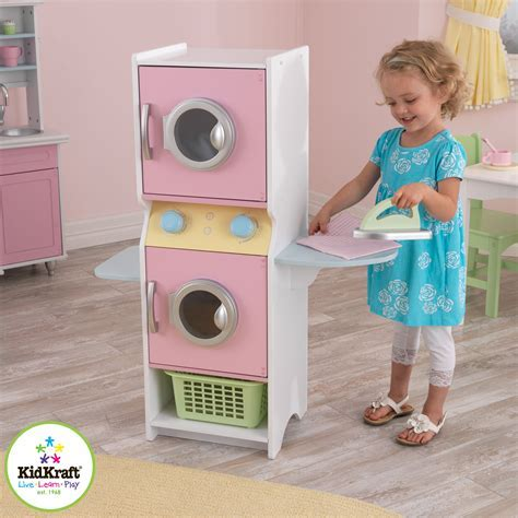 KidKraft Laundry Playset   Pink   63179   Pretend Play