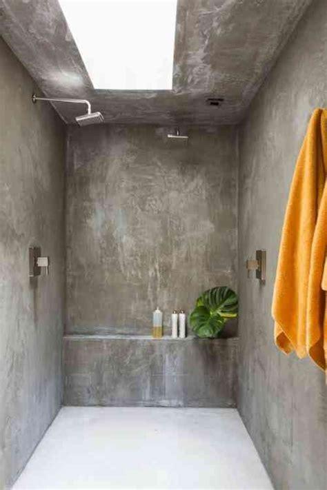 beton cellulaire salle de bain le b 233 ton cir 233 dans la salle de bain tout ce qu il faut savoir viving