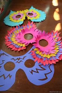 Masque Halloween A Fabriquer : 78 best images about mask making for kids on pinterest ~ Melissatoandfro.com Idées de Décoration