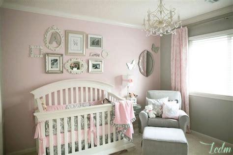 decoration chambre bébé fille chambre bebe deco fille visuel 6