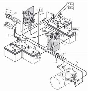 Yamaha Golf Cart Battery Wiring