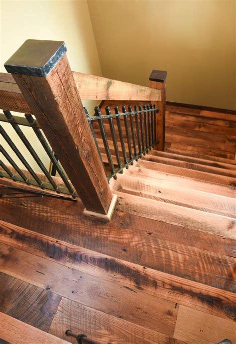 gallery hardwood stairs reclaimed wood colorado ward