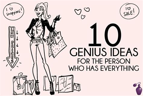 10 genius gift ideas for the person who has everything