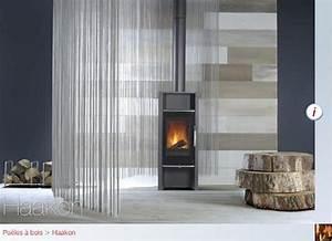 Poele A Bois Moderne : poele a bois moderne haakon ~ Dailycaller-alerts.com Idées de Décoration