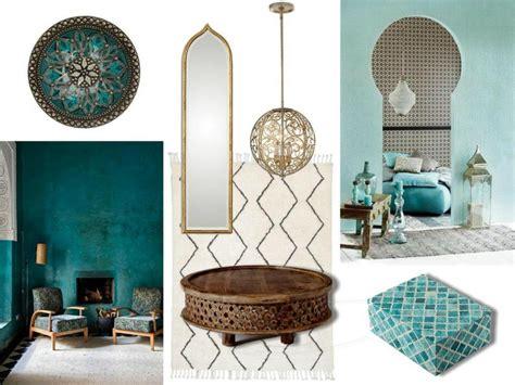 mood board moroccan style  interior design modern