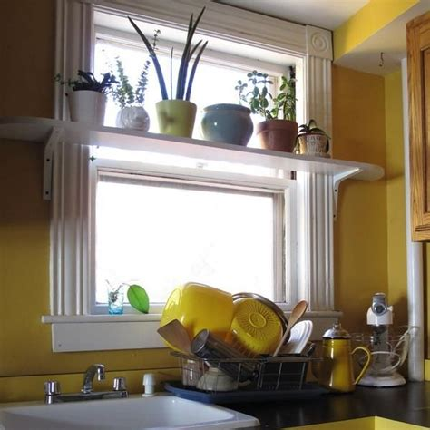 kitchen window shelf ideas 25 creative window decorating ideas with open shelves space saving ideas for small rooms