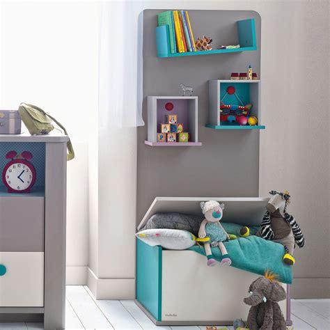 chambre bébé moulin roty bibliothèque taupe avec coffre à jouets pour chambre bébé