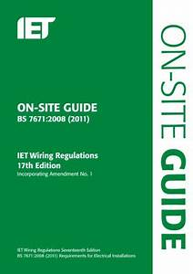 Download On-site Guide  Bs 7671 2008 By Iet Pdf