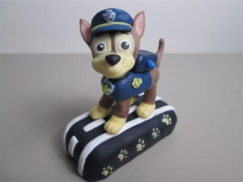 Chase From Paw Patrol Out Of Fondant