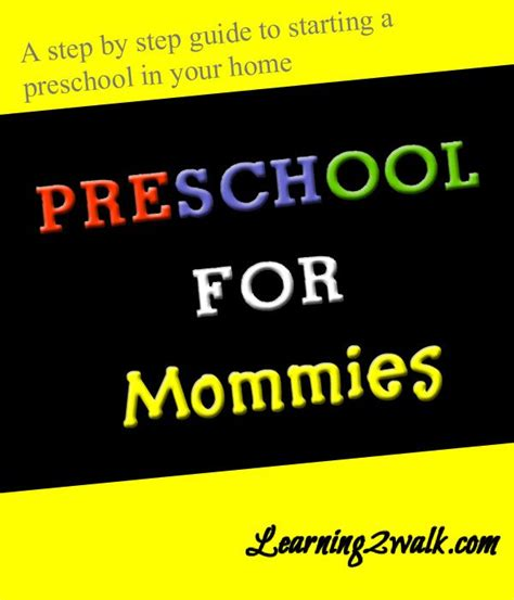 preschool for mommies home step by step guide and step 387 | cf98a889eb68bceb9399d4cf584363d4